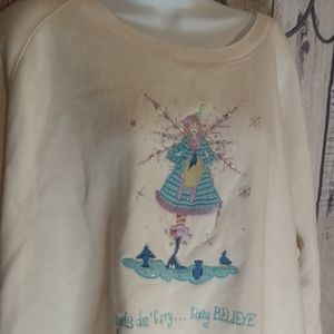 Quacker Factory Angel Sweat Shirt